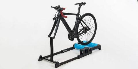 Rodillo de bicicleta magnético con soporte delantero