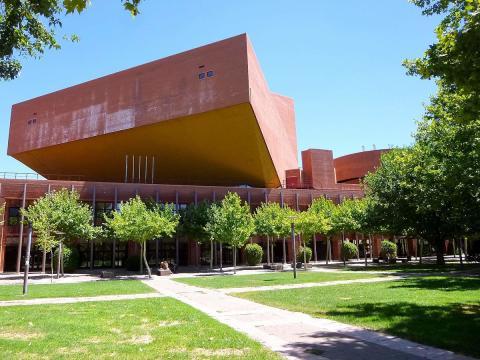 Auditorio de la Universidad Carlos III.
