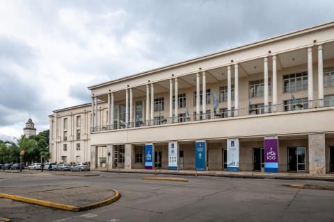 Pabellón Argentina en la Universidad Nacional de Córdoba.