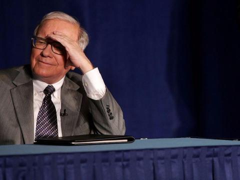 Warren Buffett joked on Yahoo Finance that he's drinking Coke to protect himself from the coronavirus.