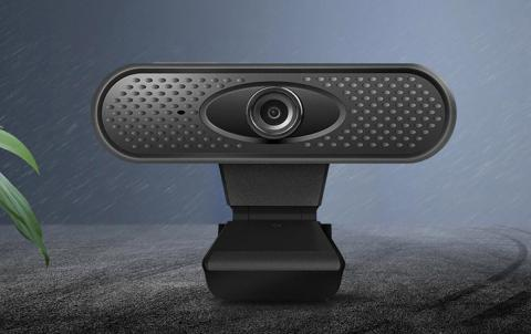 Webcam Black Techphone 1080p
