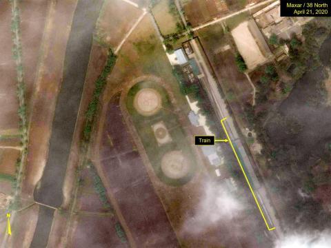 Imágenes sacadas del proyecto de monitoreo de Corea del Norte, 38 Norte.