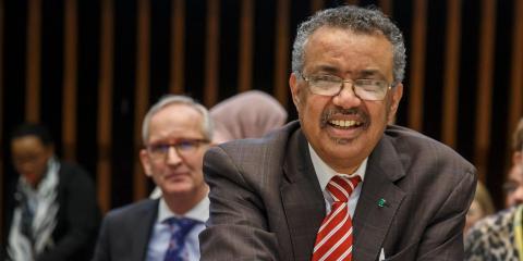 Tedros Adhanom Ghebreyesus, director general de la OMS..