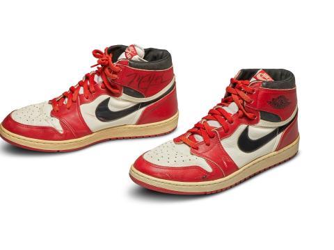 2020: Nike Air Jordan 1s ($560,000)