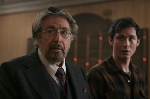 Al Pacino y Logan Lerman en Hunters