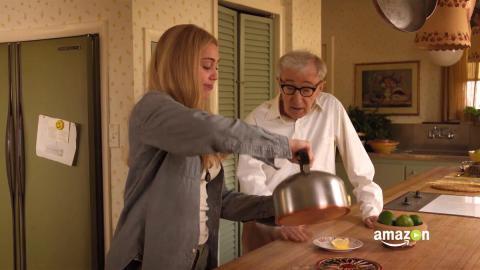Miley Cyrus y Woody Allen en Crisis en seis escenas de Amazon.