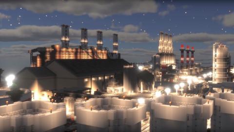 9 años y más de 400 personas para construir la gran urbe de Minecraft