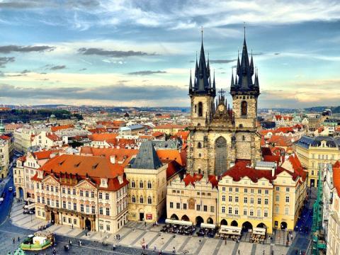 Castillo de Praga en la República Checa.