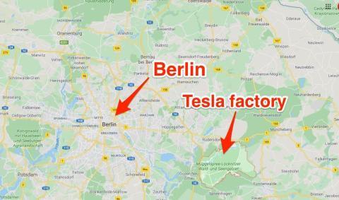 El nuevo Tesla Gigafactory se hará en Berlín.