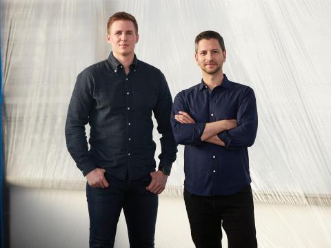 Los fundadores de Archer, Brett Adcock y Adam Goldstein.