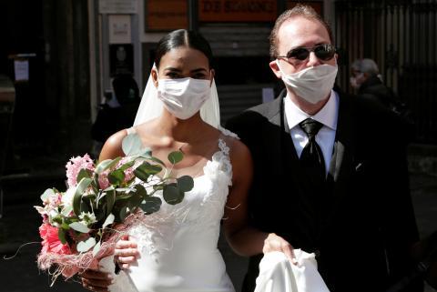 cómo seran las bodas tras el coronavirus