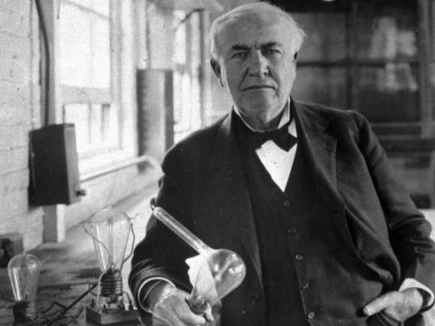 Thomas Edison.