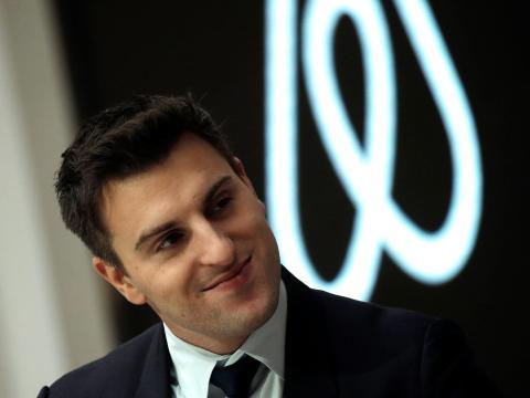 El CEO y confudnador de Airbnb, Brian Chesky.