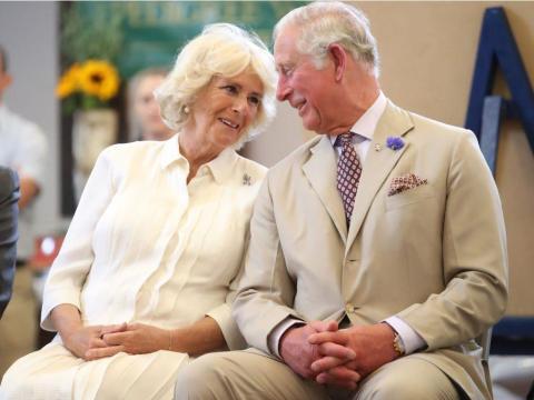 Camilla, duquesa de Cornualles y el príncipe Carlos.