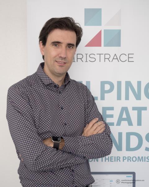 César Mariel, CEO de Iristrace,