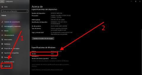 Cómo actualizar a Windows 10 May Update 2020