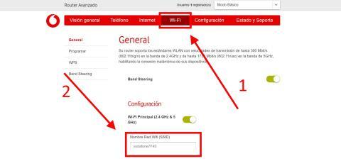Cómo cambiar el nombre y la contraseña de tu WiFi