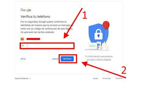 Cómo crear una cuenta de Gmail
