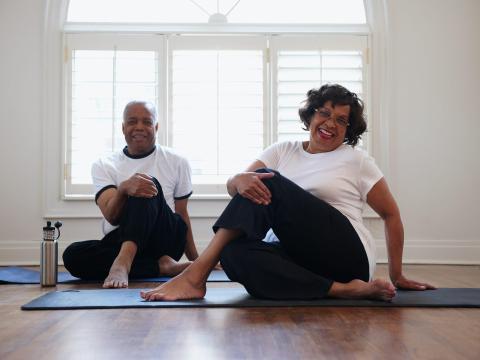 Podéis hacer ejercicio juntos.