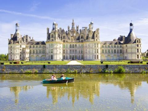 El castillo es un símbolo del renacimiento francés.