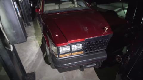Custom Cadillac Seville.