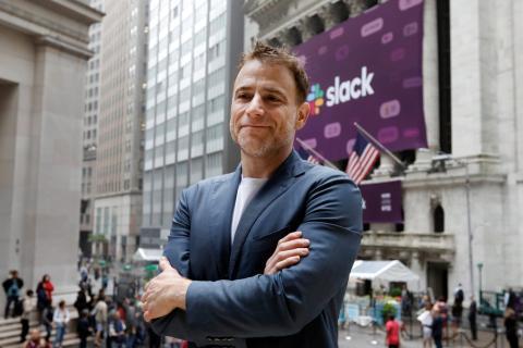 El director general de Slack, Stewart Butterfield.