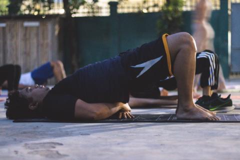 ejercicio yoga