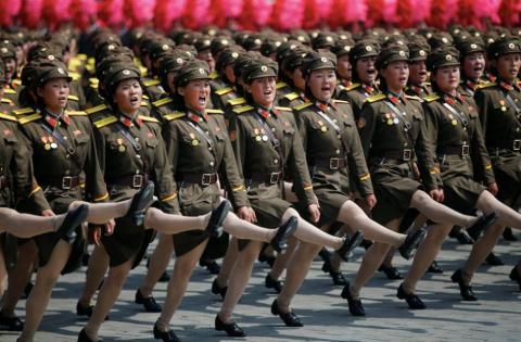 El ejército revela uno de los aspectos más importantes de la vida norcoreana.