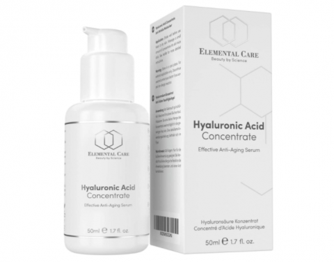 Elemental care, ácido hialurónico.