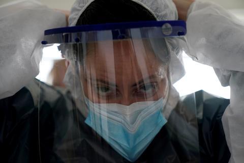 Una enfermera de Ondarroa