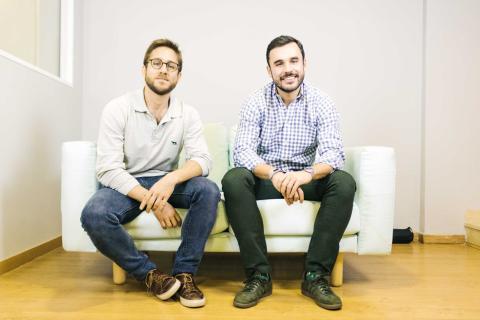 Enrique Pérez Castro y José Luis Domínguez de Posada, cofundadores de InMotion Food.