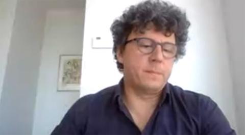 Fabien Schneider, responsable del programa de telemedicina, aprendizaje y producción de conocimientos en Médicos Sin Fronteras.