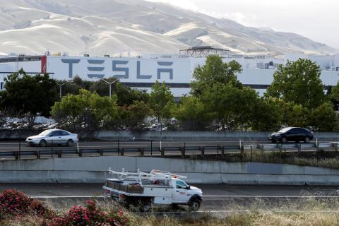 Fábrica de Tesla en Fremont, California