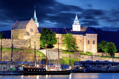 Fortaleza de Akershus, Noruega.