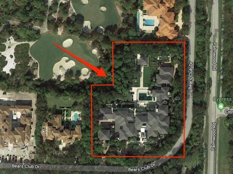 Se gastó 12,8 millones de dólares construyendo la casa de sus sueños en Florida en 2012.