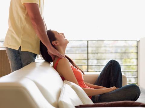Podéis daros masajes en casa.