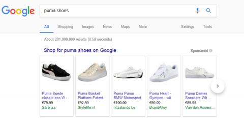 Google Shopping.