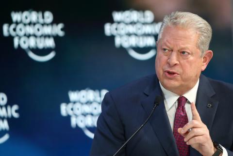 Al Gore, exvicepresidente de Estados Unidos.