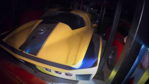 Corvette de carreras.