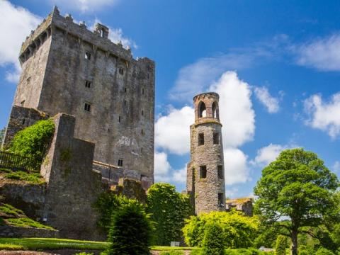 Este castillo medieval es una de las atracciones turísticas más solicitadas de Irlanda.