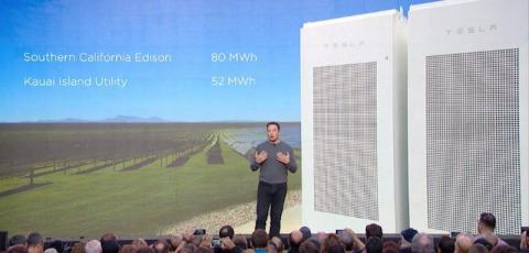 ... including some really large batteries for utilities ...