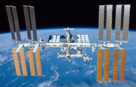 La Estación Espacial Internacional (ISS).