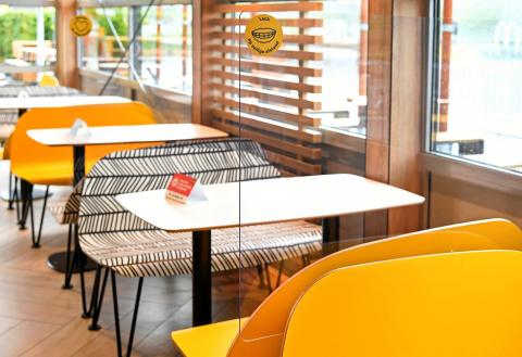Koekkoek told Reuters that the new design would allow McDonald's locations to serve about 66% of its normal customers.