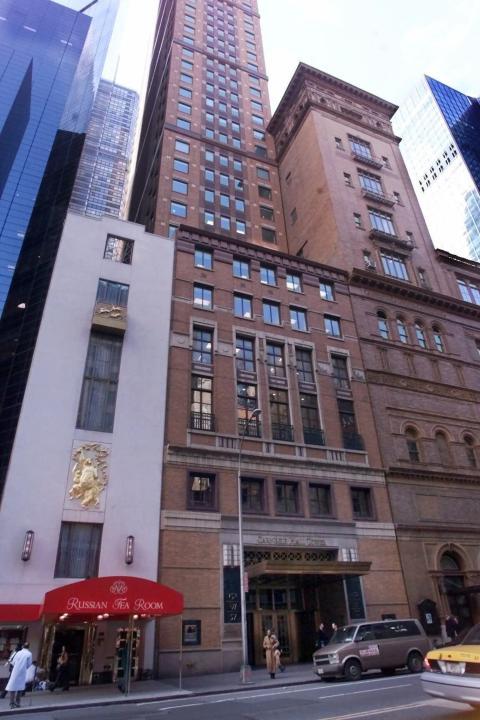 El bufete de abogados de Grubman Shire Meiselas & Sacks tiene oficinas en el Carnegie Hall del centro de Manhattan.