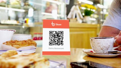 Let's Order, la startup para pedir la comanda y pagar, sin mediación del camarero, a través de un código QR.
