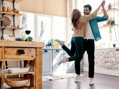 Podéis bailar en casa.