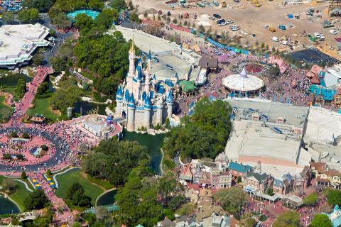 Magic Kingdom Disneyworld, Orlando.
