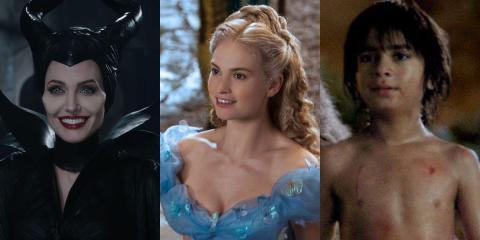 """""""Maléfica"""", """"La Cenicienta"""" y """"El Libro de la Selva"""" fueron algunos de los próximos remakes de Disney. """"Peter y el Dragón"""" también se estrenó en 2016."""