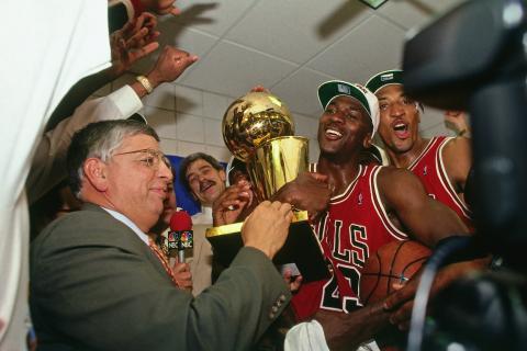 Michael Jordan, en una fotografía de archivo