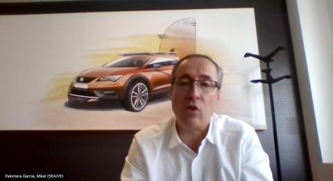 Mikel Palomera, director general de Seat España, analiza la situación del sector tras el coronavirus
